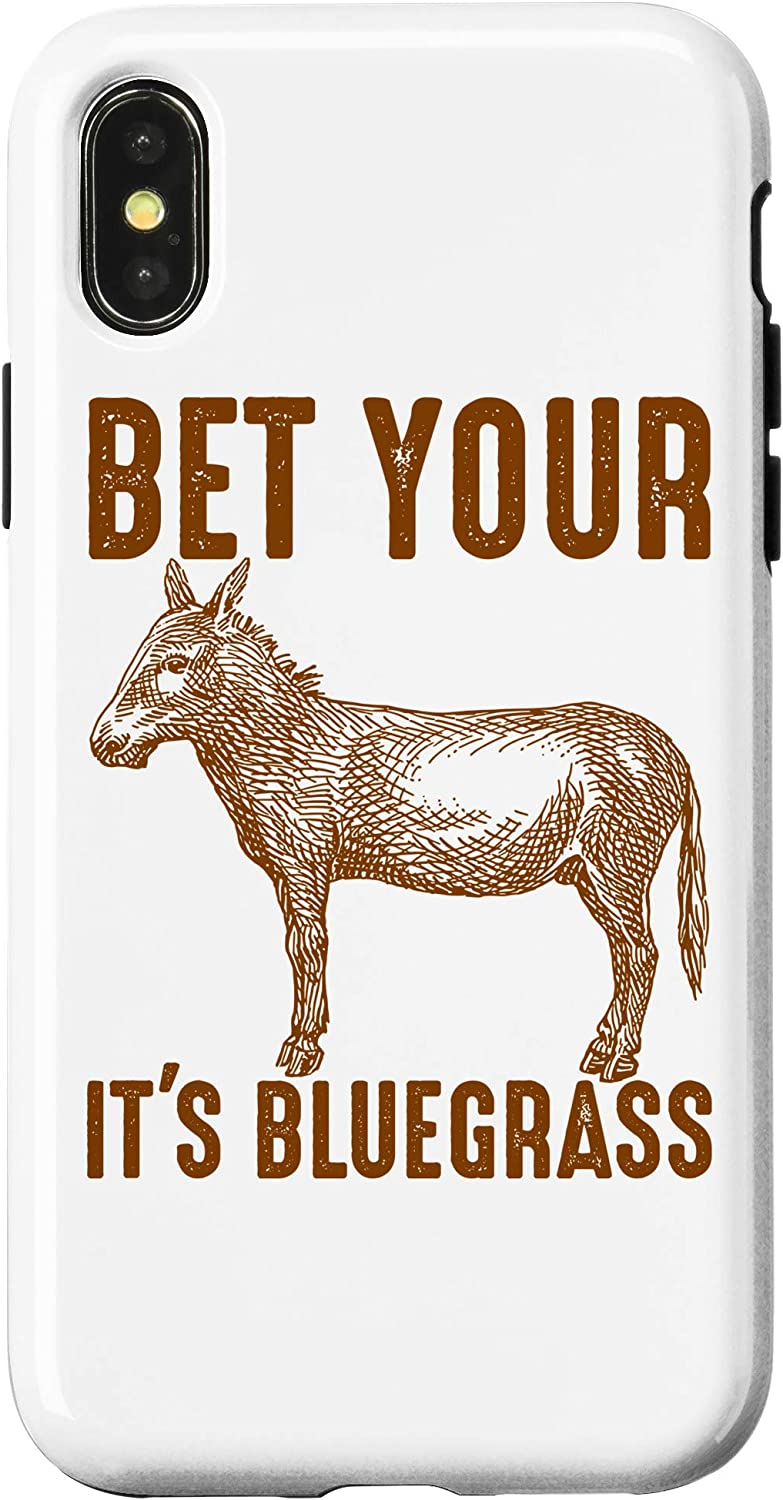 Amazon Com Iphone Xr Cute Bet Your Donkey Ass It S Bluegrass Funny Musician Gift Case