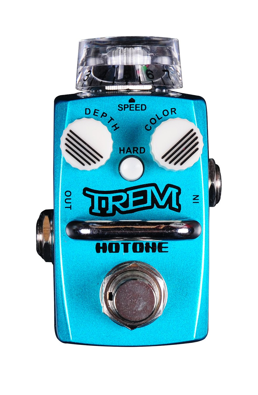 Hotone Skyline Series TREM Compact Analog Tremolo Guitar Effects Pedal