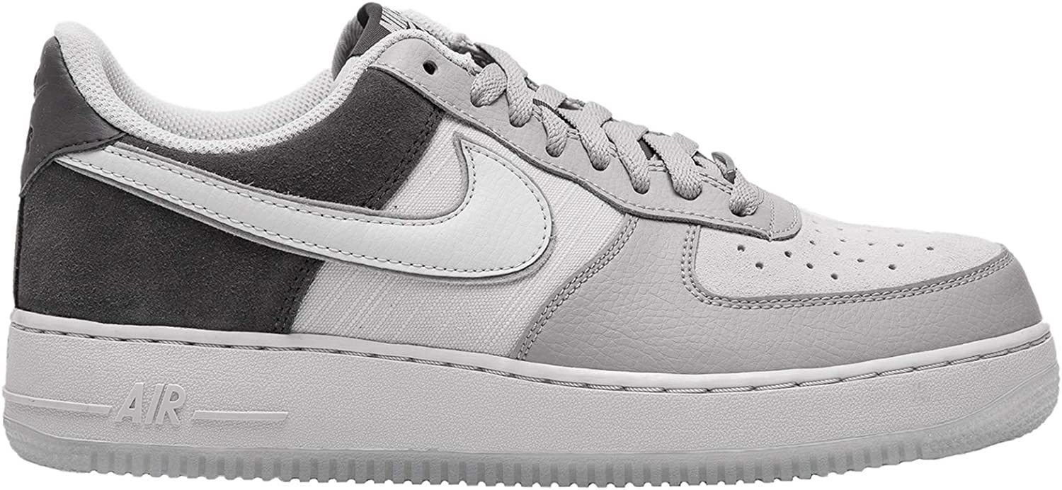Nike Mens Air Force 1 07 LV8 2 Leather Textile Atmosphere