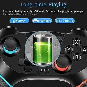 Wireless Switch Pro Controller Gamepad Joypad Remote Joystick for Nintendo Switch Console