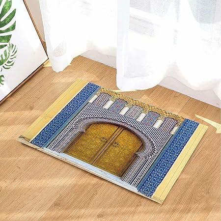 Art déco porte décorative indienne égyptienne Tapis de salle ...