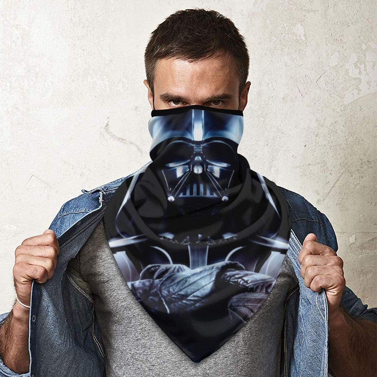Sans couture Masque Star Wars Protection solaire Coupe-vent Emonye
