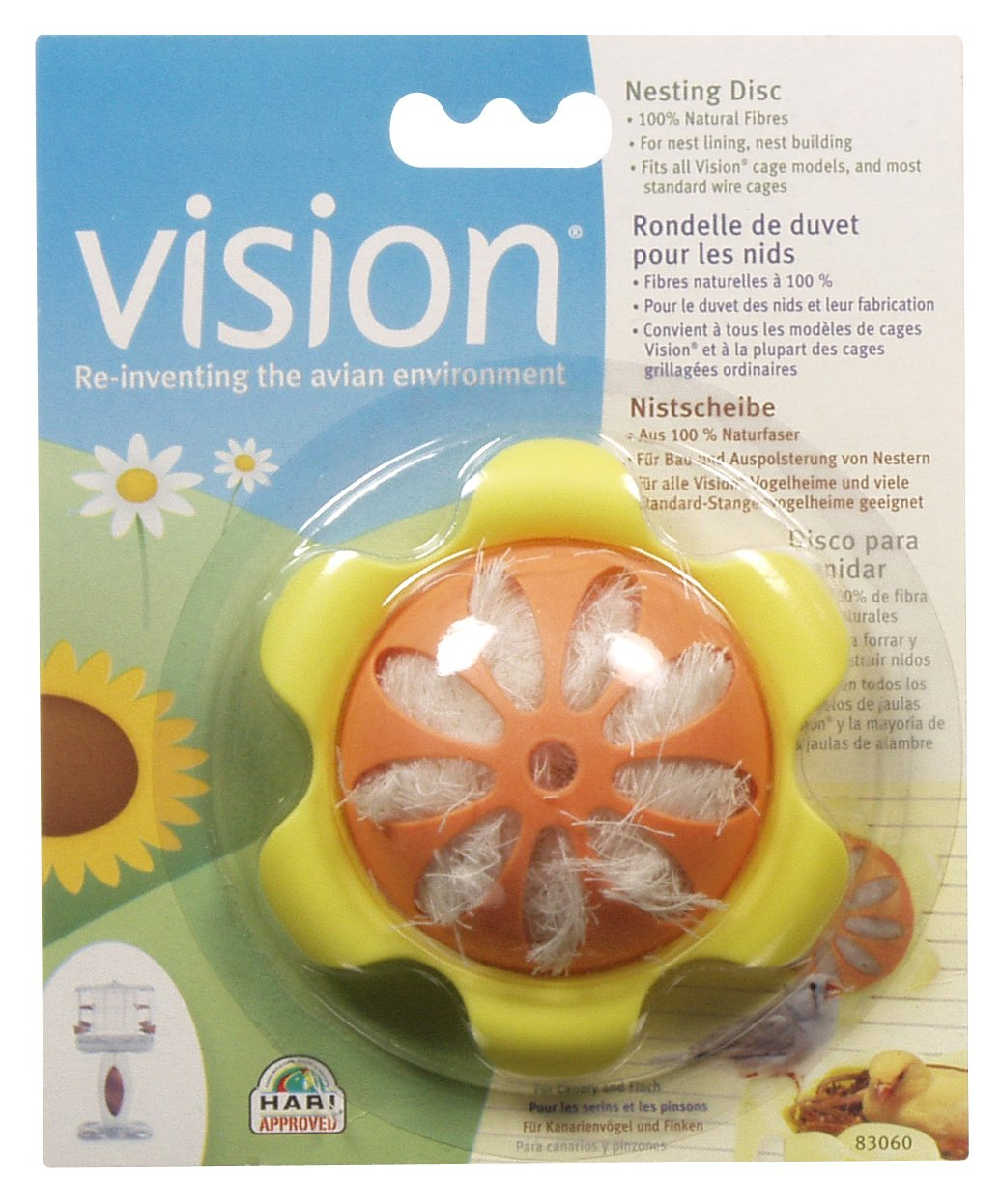 Vision Nesting Disc Living World 83060