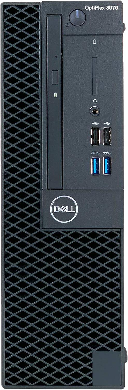 Dell OptiPlex 3070 SFF Small Form Factor Desktop - 9th Gen Intel Core i7-9700 8-Core CPU up to 4.70GHz, 16GB DDR4 Memory, 512GB SSD, Intel UHD Graphics 630, DVD Burner, Windows 10 Pro