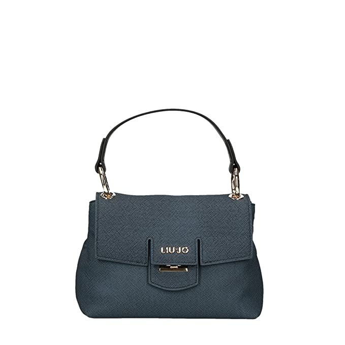 Borsa cartella Liu Jo piccola marseille furdenim dress blue  Amazon.it  Scarpe  e borse e950cd0fba1