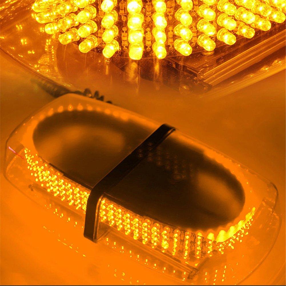 Lumi/ère Stroboscopique Gyrophare pour Voiture avec Fixation Magn/étique Camion Lumi/ères Davertissement Feux Stroboscope Flash 7 Modes Auto Flash Lampe avec 12v Allume-cigare