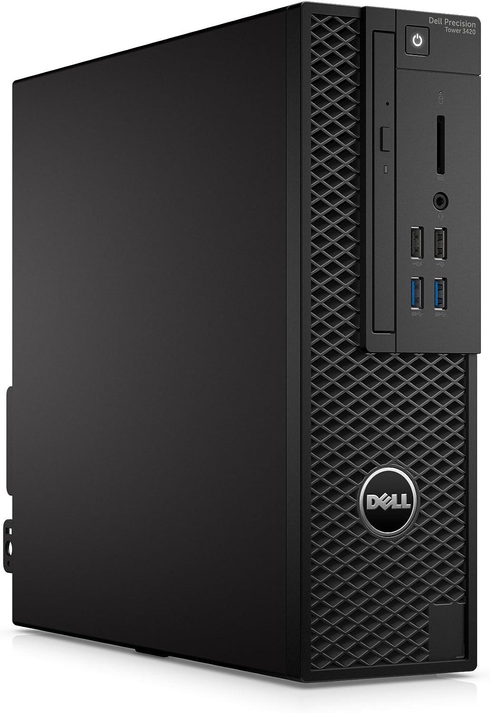 Dell Precision T3420 Intel Core i7-6700 X4 3.4GHz 16GB 256GB SSD, Black (Certified Refurbished)