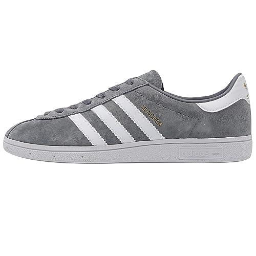 best website 20b88 a1d1e Adidas Munchen, Zapatillas de Deporte para Hombre  Amazon.es  Zapatos y  complementos