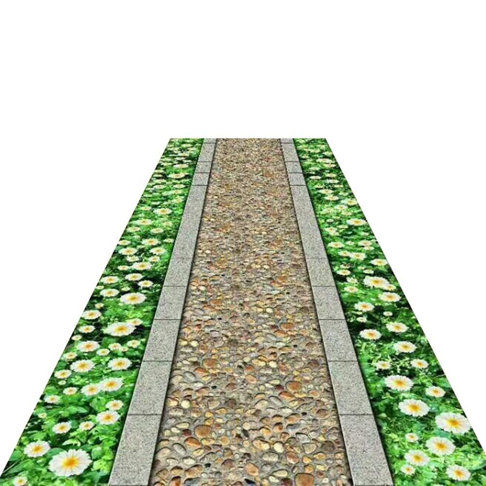 HAIPENG-Läufer Teppiche Flur Extra Lang Teppich Nicht Skid Skid Skid Passage Eingang Matte Waschbar Zum Wohnzimmer Esszimmer (Farbe   B, größe   1x4m) B07MK6YYWJ Teppiche ee7a6d