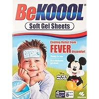 Be Koool Soft Gel Sheets for Kids 4 ea by BeKoool
