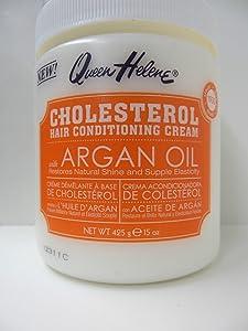 QUEEN HELENE Cholesterol Hair Conditioning Creme Argan Oil, 15 oz