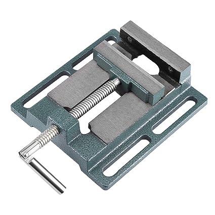Tornillo de banco para taladro de columna banco Alicate Etau apertura paralelo mesa tornillo de banco