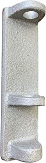 product image for Aluminum Adhesive Flag Holder for Gravestones & Memorials - Affixes to Stone - Proudly Made in The USA (Silver)