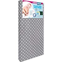 """Milliard Hypoallergenic Baby Crib Mattress or Toddler Bed Mattress With Waterproof Cover - 27.5""""x52""""x4.75"""""""