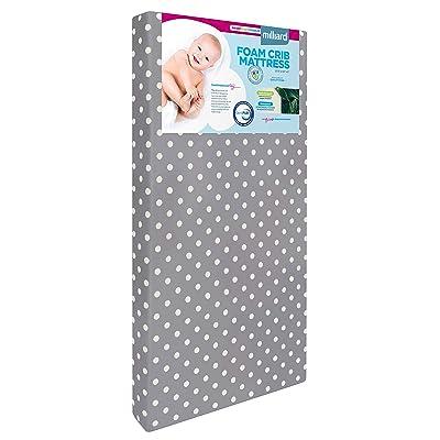 Milliard Hypoallergenic Baby Crib Mattress