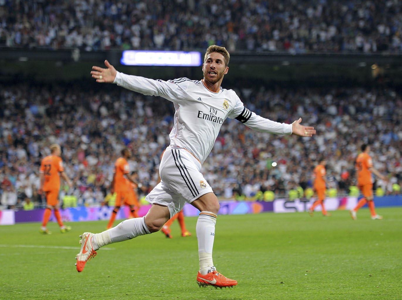 Sergio Ramos – Real Madrid España # 08 – 8 x 10 fotos: Amazon.es: Hogar
