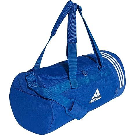 d1b62ffd36 adidas Convertible 3-Streifen Duffelbag, Set di asaiugamani Uomo, Blu  (Reauni/