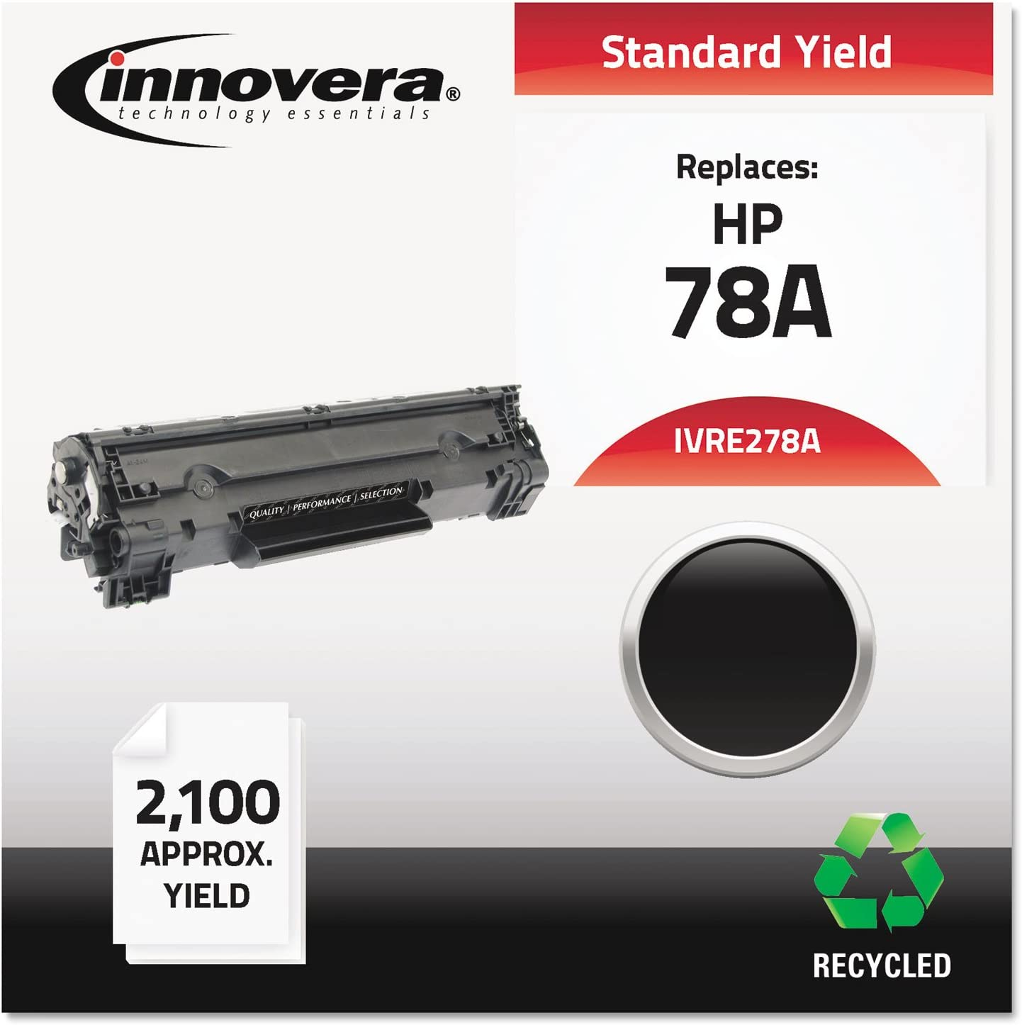 IVRE278A Innovera Remanufactured CE278A 78A Laser Toner