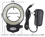 LED-144-ZK Black Adjustable 144 LED Ring Light