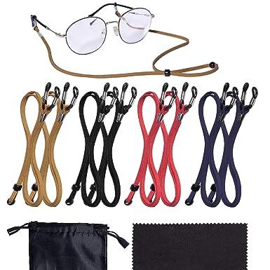 Amazon.com: Paquete de 8 correas para gafas – Correa ...