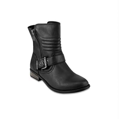 143 girl fennie women black ankle booties 8.5M