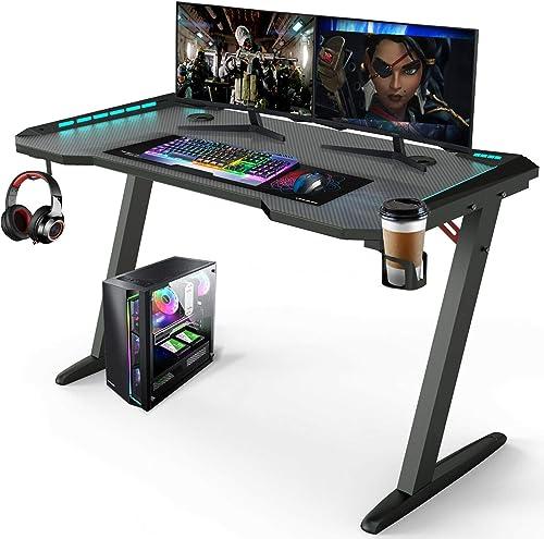 45″ Gaming Desk Modern Office Desk