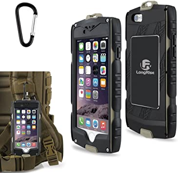 iPhone 6S Funda, longrise Outdoor Sports iPhone 6s Defender – Carcasa con protector de pantalla integrado Heavy Duty – Carcasa para iPhone 6 de 4,7 pulgadas: Amazon.es: Electrónica