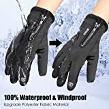 FancyGoo Touchscreen Running Gloves Winter