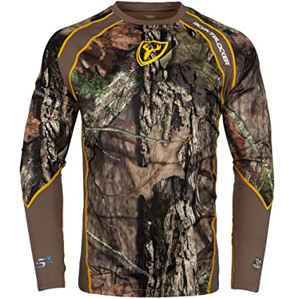 2ecf515d6fa19 Scent Blocker 1.5 Performance Long Sleeve Shirt (Mossy Oak Country, Medium)