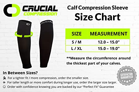 Amazon calf compression sleeve 20 30mmhg for men women amazon calf compression sleeve 20 30mmhg for men women best calf compression socks for running shin splint calf pain relief leg support sleeve fandeluxe Image collections