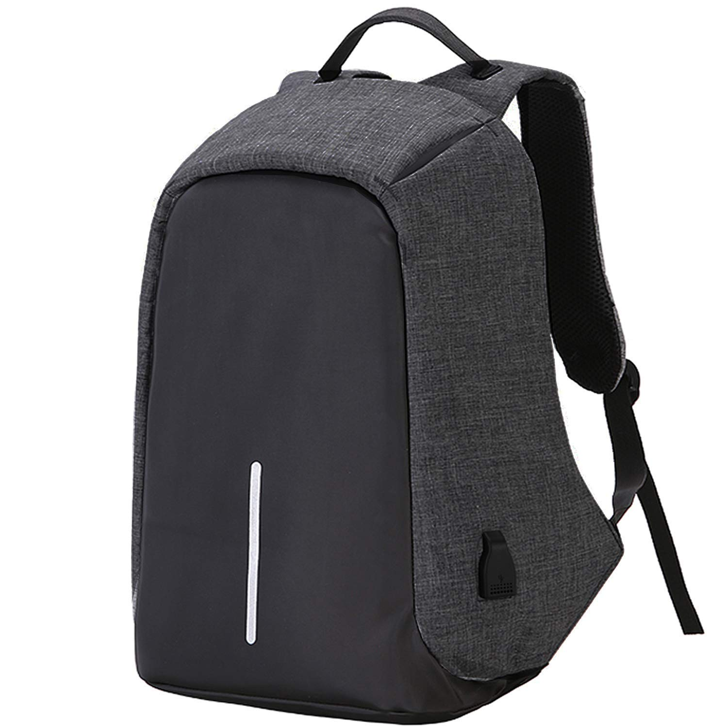 27c923de32 Andride® Anti Theft Backpack Waterproof Business Laptop Bag with USB  Charging Port for 14 Inch Laptop