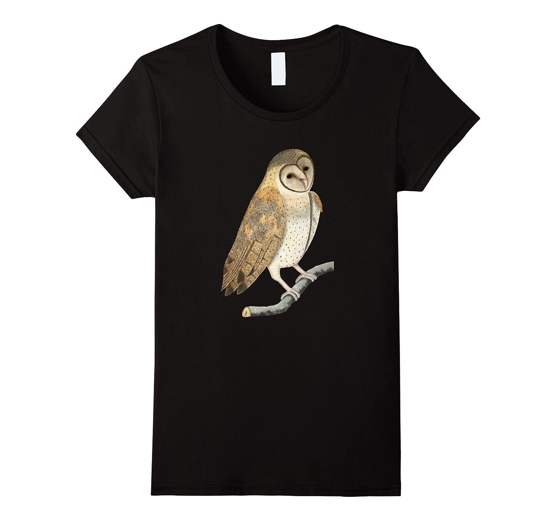 Barn Owl Wildlife Bird of Prey Vintage Graphic T-shirt