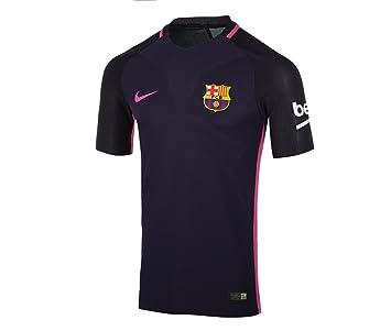 Nike FC Barcelona M SS AW Vapor Match JSY Camiseta de Manga Corta, Hombre,