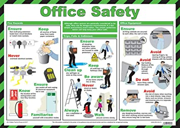 Safety First Aid Group, Preventing Slips, Trips & Falls Poster