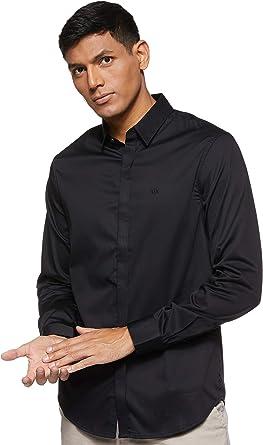 Armani Exchange Camisa de Vestir para Hombre: Amazon.es: Ropa y accesorios