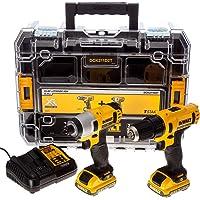 Dewalt DCK211D2T-QW DCK211D2T-QW-KIT 10,8V = Taladro Atornillador Impacto XR +…