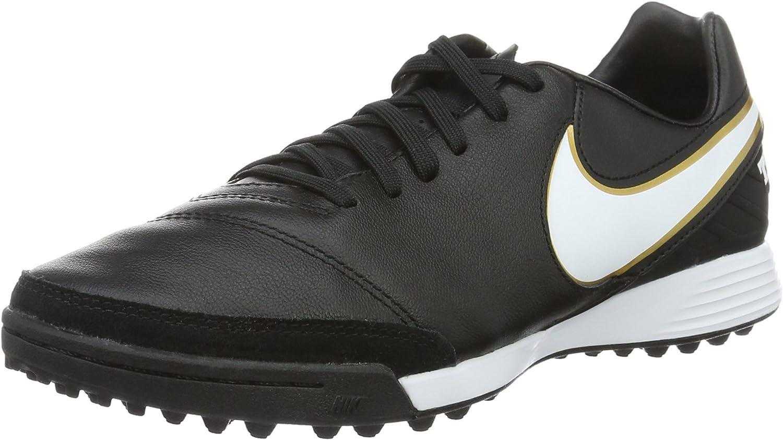 Nike Tiempo Mystic V Turf Shoes [Black