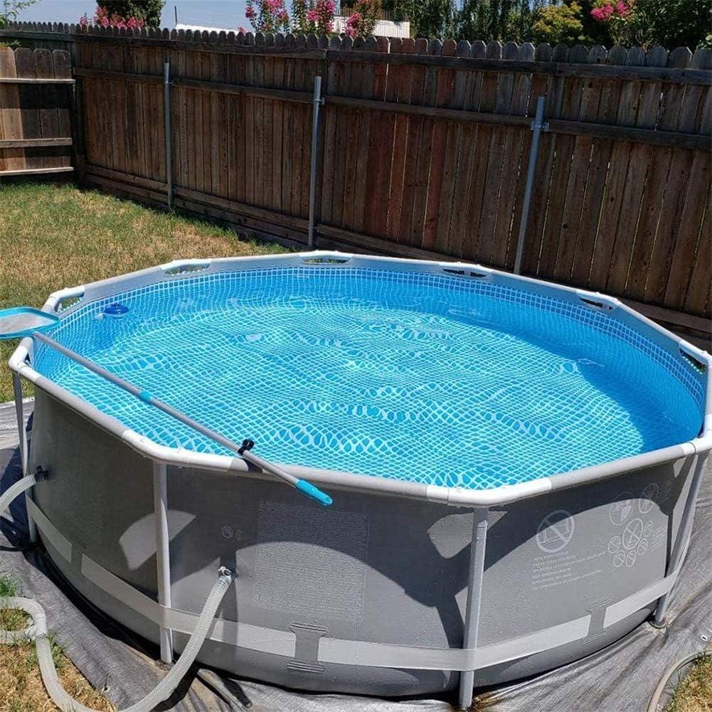ZZQH Piscina Desmontable con depuradora, Piscina Tubular (Circular), Piscina Hinchable, Frame Pool Set, Gris, 305 x 76 cm: Amazon.es: Deportes y aire libre