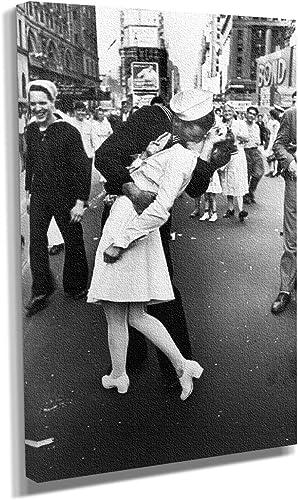 Sailor Kissing Nurse