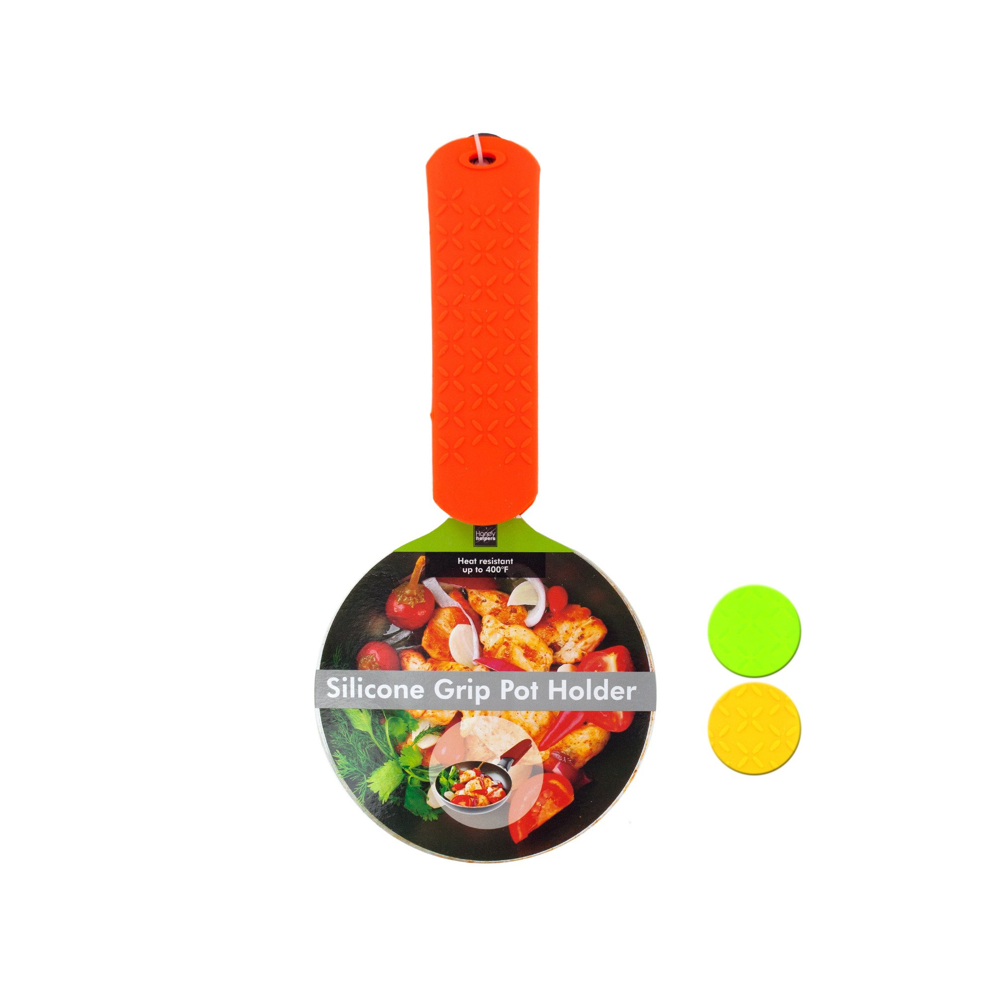 123-Wholesale - Set of 24 Silicone Grip Pot Holder - Kitchen & Dining Hot Pads & Trivets by 123-Wholesale