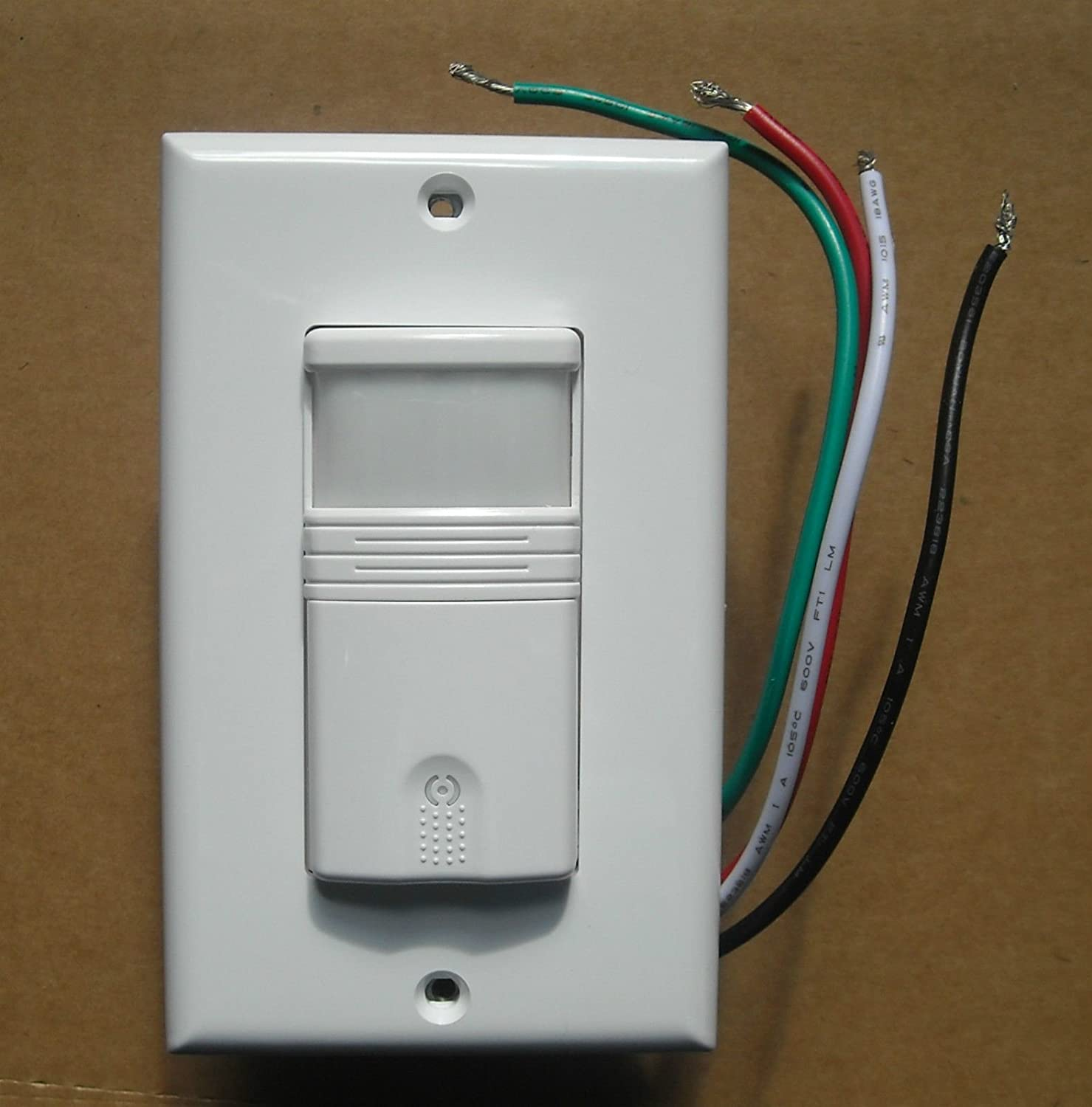Motion Detector Wiring