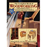 The Complete Book of Woodworking: Step-by-Step Guide to Essential Woodworking Skills, Techniques, Tools and Tips (Landauer) O