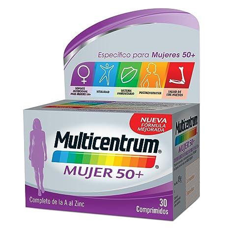 Multicentrum Mujer 50+ - 30 comprimidos