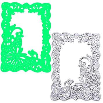 Kanpola Metal Cutting Dies Stencil DIY Scrapbooking Embossing Album Paper Card Craft Adie Cut Cutting Machine Craft Dies for Card Making cuts