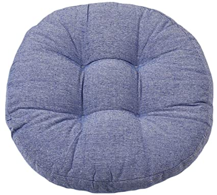 Amazon.com: LamourBear Round Chair Stool Seat Cushion Pad ...