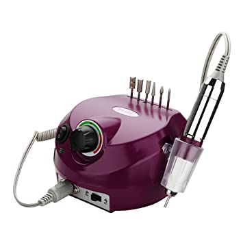 Amazon.com: Belle Electric Nail Drill Professional 30000RPM Nail ...