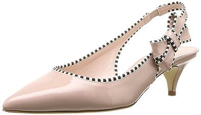 78b479309c6 Kate Spade New York Women s Ollie Heeled Sandal Pale Pink Patent 10.5  Medium US