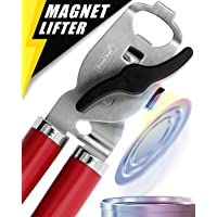 Can Opener, No-Trouble-Lid-Lift Magnet Manual Can Openers Smooth Edge, Japanese...