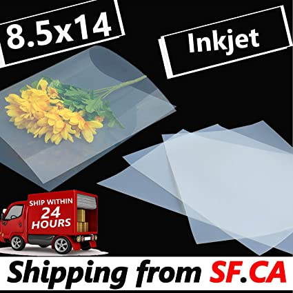 amazon com waterproof inkjet silk screen printing transparency