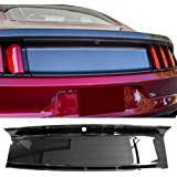 trunk boot cover fits 2015-2018 ford mustang | abs rear trunk cover panel  decorating